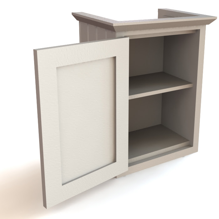 Door Only Single Cabinet, Kitchen Cabinets ...