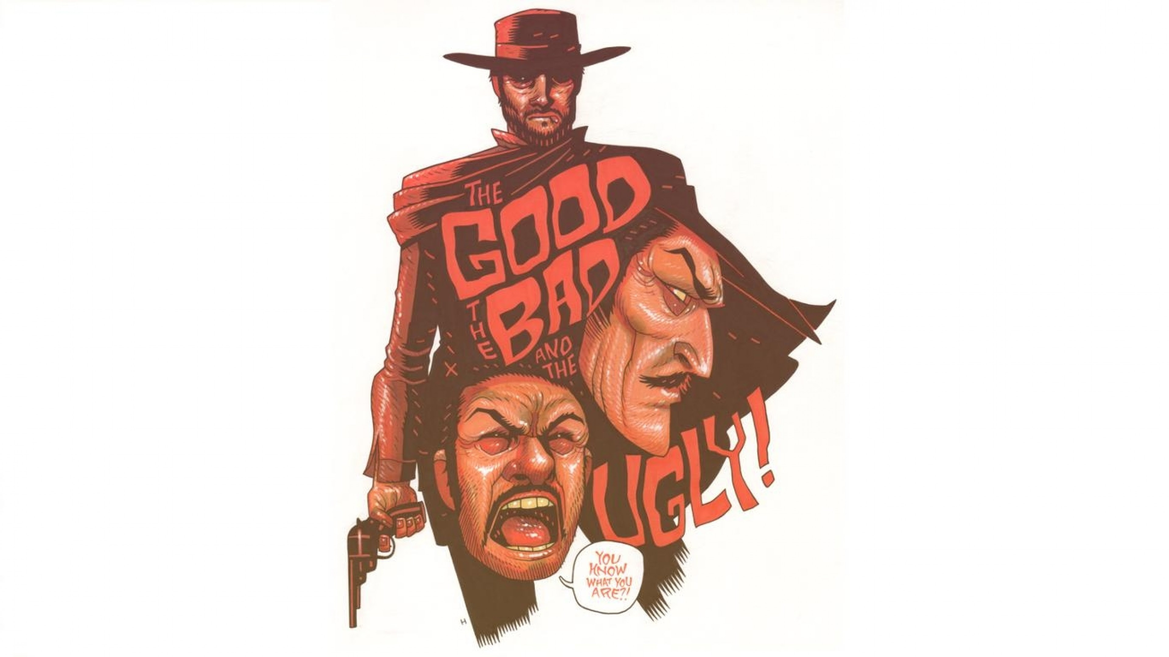 The Good The Bad And The Ugly Clint Eastwood Western Wallpapers