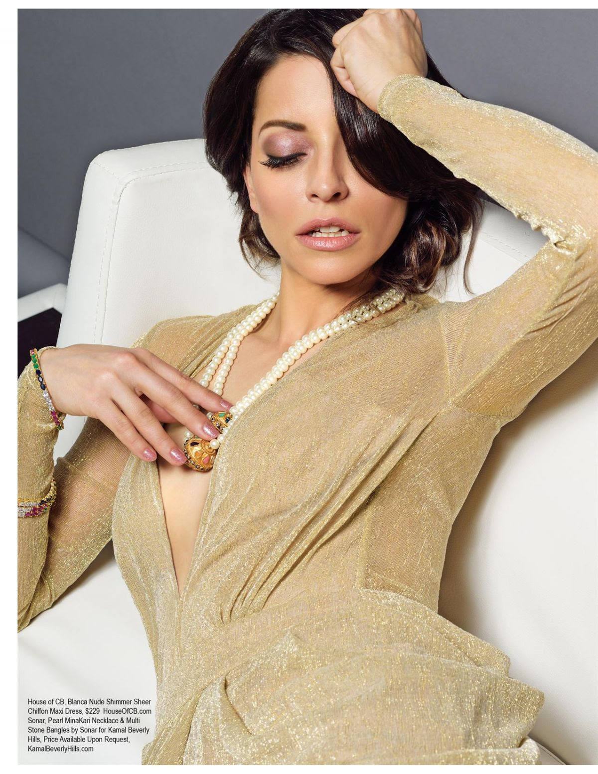 EMMANUELLE VAUGIER in Regard Magazine, Issue #31 April 2015