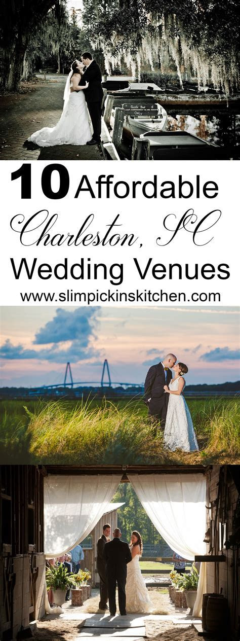Affordable Charleston Wedding Venues for Brides on a