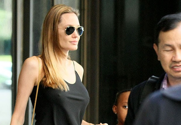 Angelina Jolie (Foto: The Grosby Group)