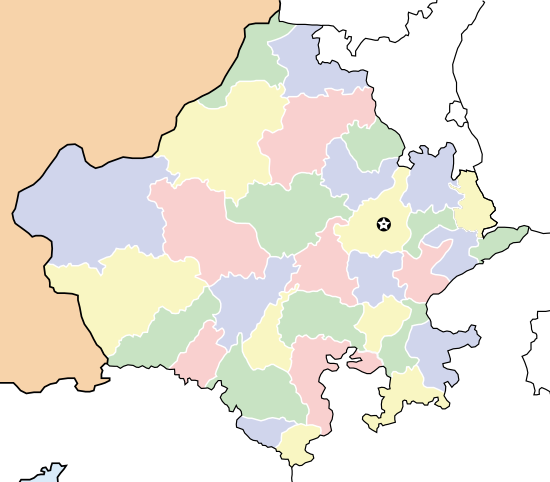 Rajasthan locator map.svg