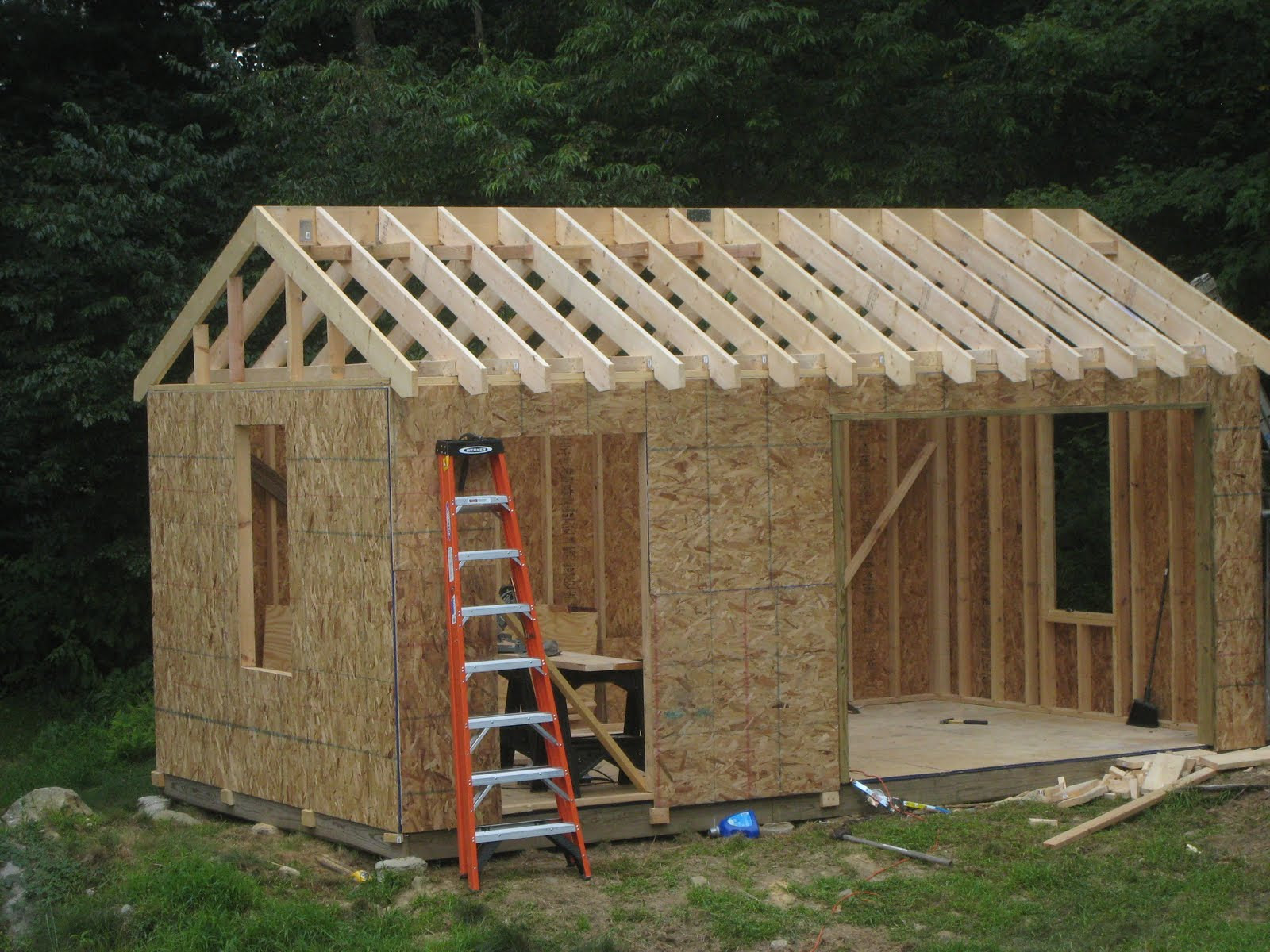 Building A Shed Floor Home Design Ideas and