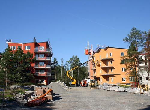 It's a building site