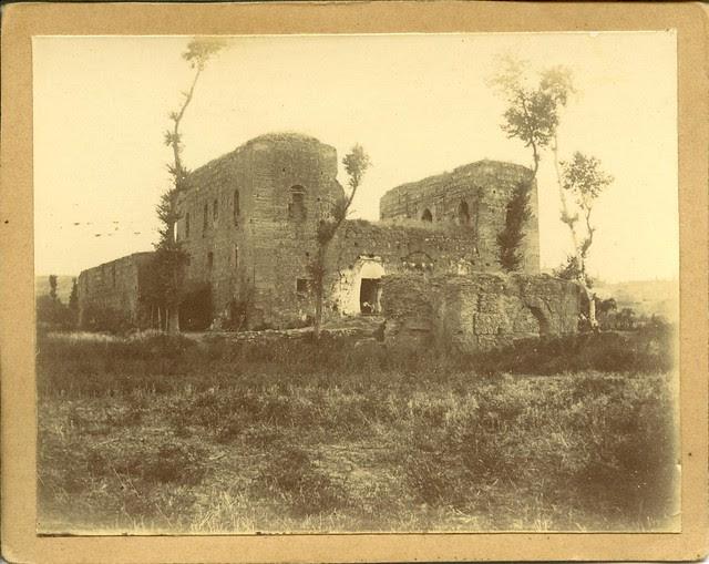 Palacio de Galiana a principios del siglo XX. Fotografía de Pedro Román Martínez. Diputación de Toledo