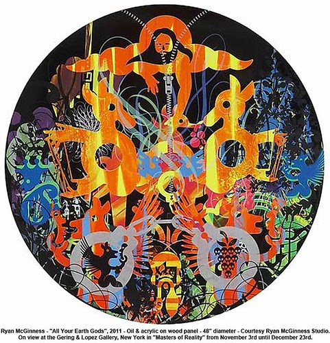 "Ryan McGinness - ""All Your Earth Gods"", 2011 by artimageslibrary"