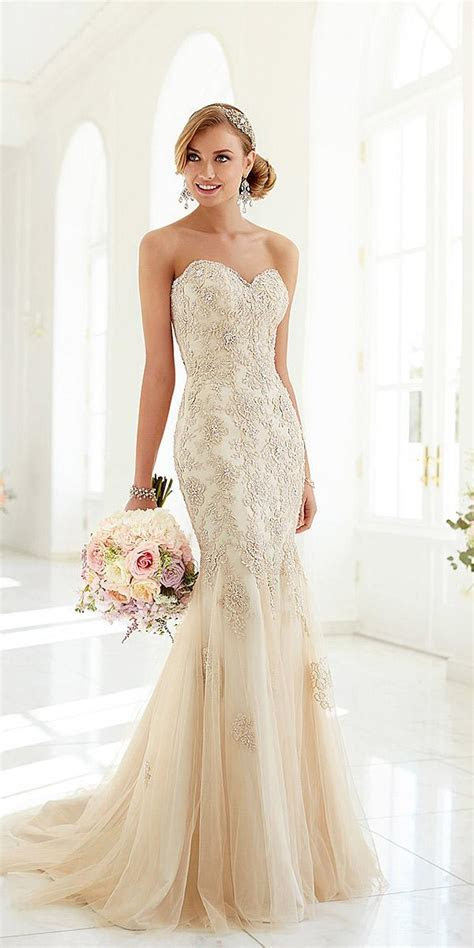21 Sweetheart Mermaid Wedding Dresses   Wedding Dresses Guide