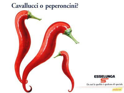 Creative Ads With Fruits & Vegetables 1