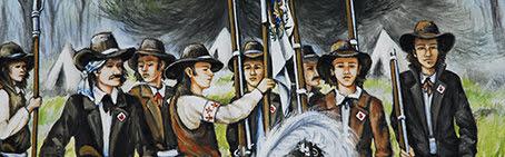 Les armes ressortiront jusqu'en 1832.