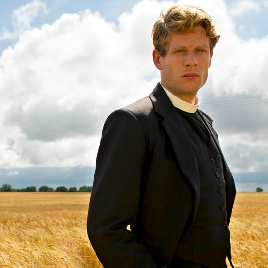 #2. James Norton as the Reverend Sidney Chambers in Grantchester