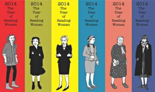 "Joanna Walsh's ""year of reading women"" bookmarks."