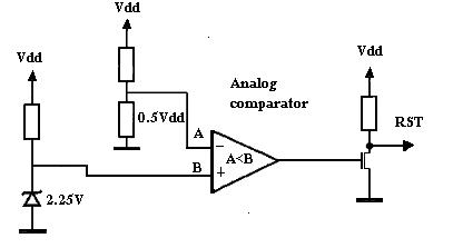 external brown out circuit