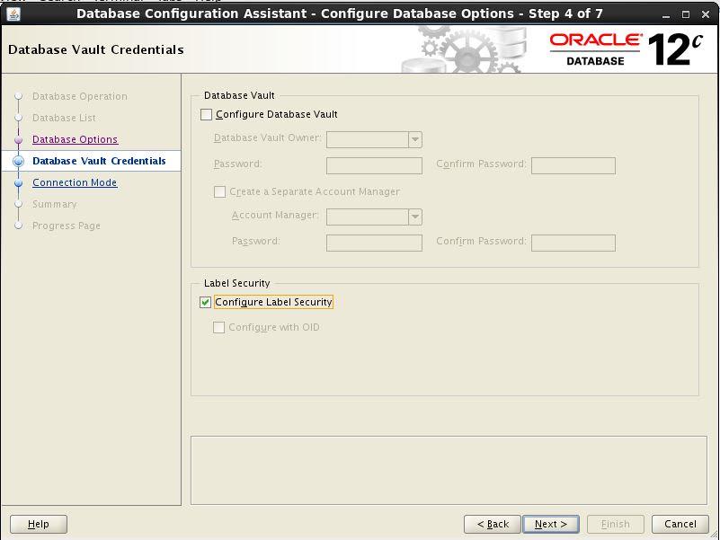 Configure CDB 4