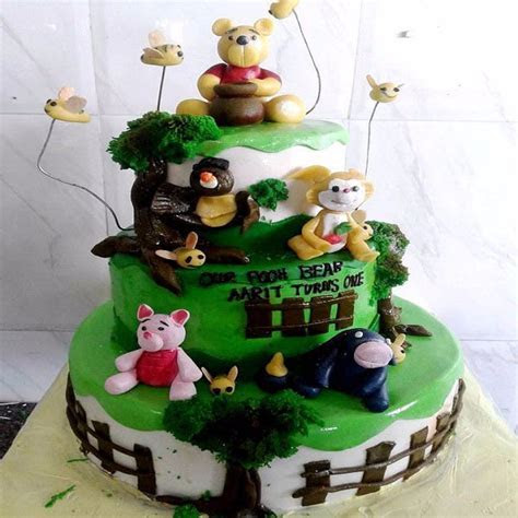 Buy Winnie The Pooh Cake CFB33 Online in Bangalore   Order