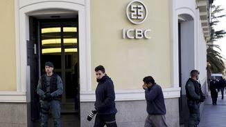 Imatge de la seu de l'ICBC a Madrid