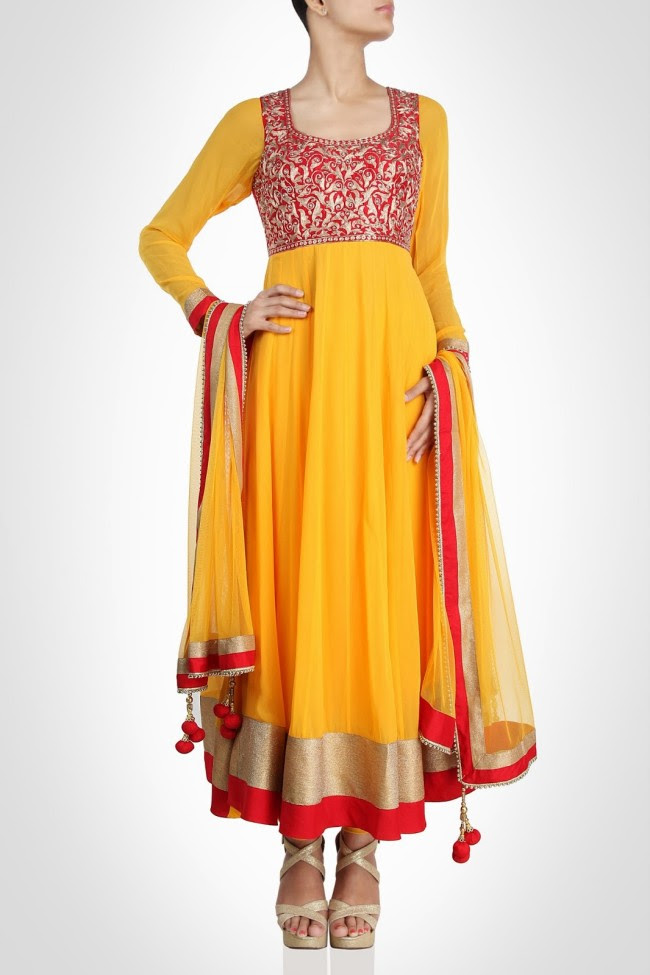 Girls-Women-Wear-Beautiful-Anarkali-Churidar-Gotazari-Frock-New-Fashion-Outfits-1