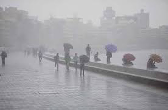 Heavy rains, strong winds to be expected today