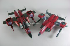 Transformers Thrust Classic Henkei vs G1 - modo alterno
