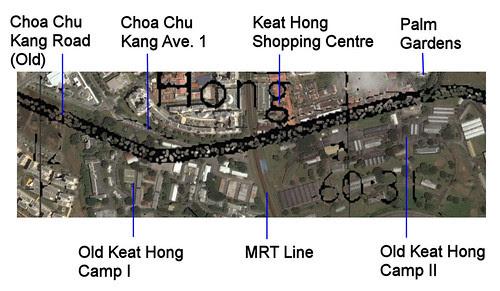 Choa Chu Kang Road @ Keat Hong Camp