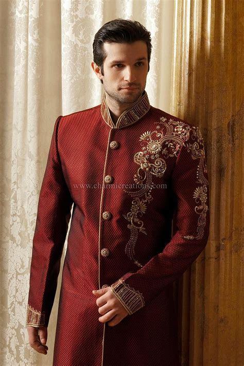 Modern sherwani   Groom (Indian Wedding)   Pinterest