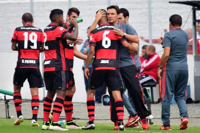 Flamengo x Ponte Preta (Foto: Agência Estado)