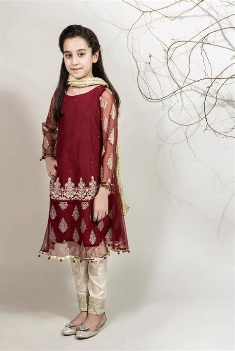 Winter Party Wear Dresses by Maria B Stitched Collection