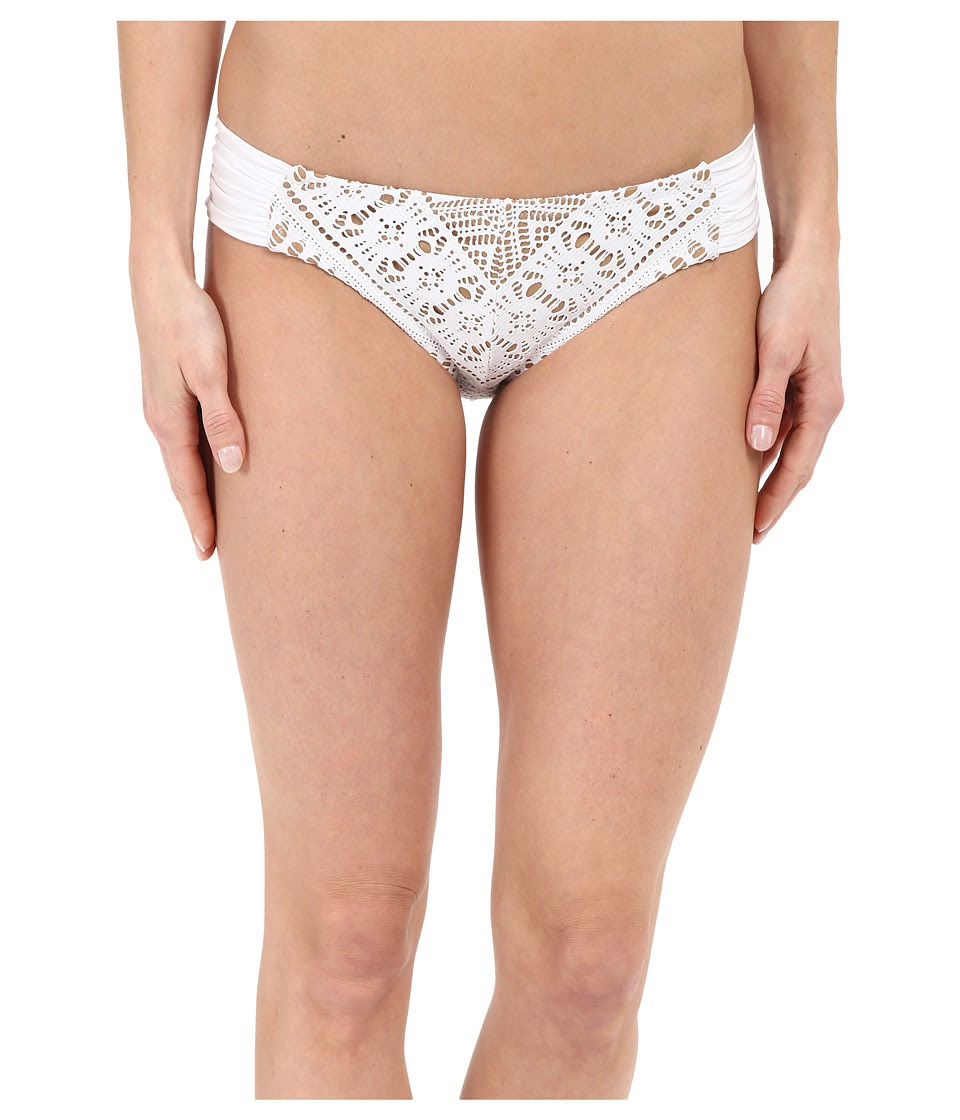 BECCA by Rebecca Virtue - La Boheme American Bottom (White) Women's Swimwear