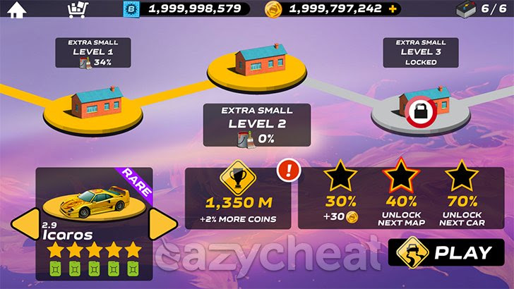 Splash Cars v1.5.09 Cheats