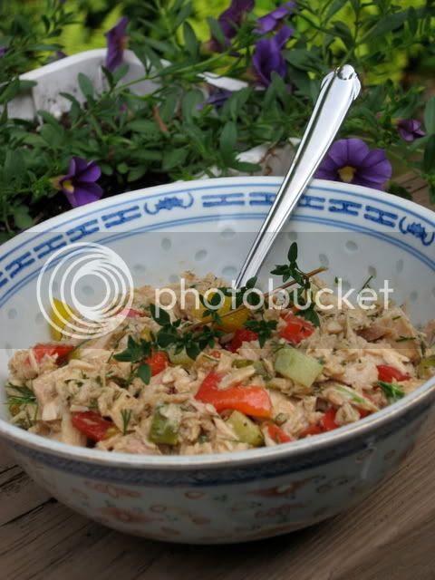 gluten-free herbed tuna salad