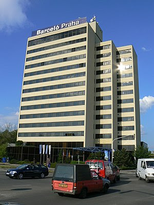 Building of The Hotel Barceló in Prague 4 (Dlo...