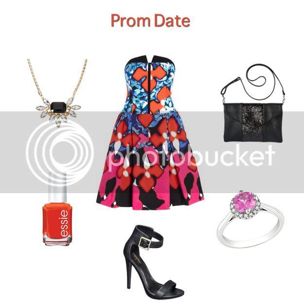 Peter Pilotto for Target lookbook - prom date dress