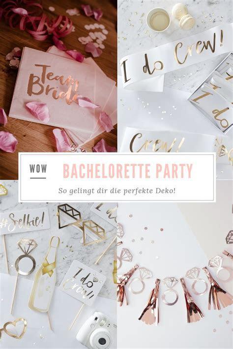 van harte JGA Deko Bachelorette Party Dekoration