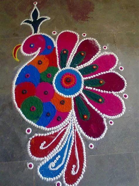 Beautiful colors   Rangoli   Rangoli designs, Beautiful