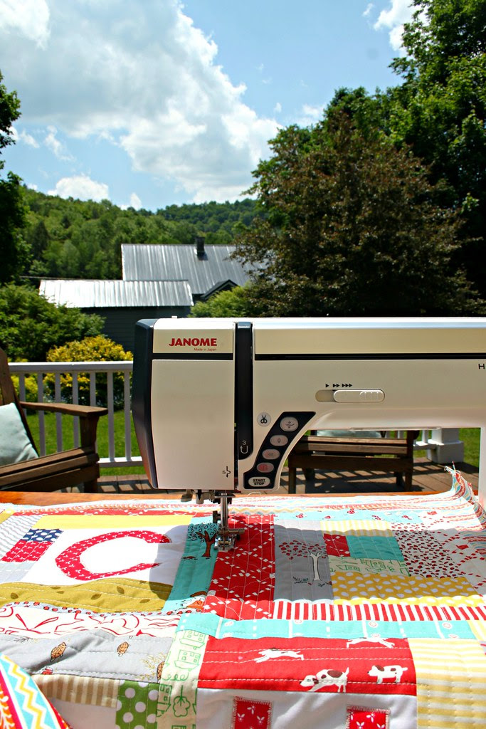 Quilting Outside