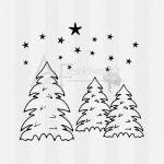http://www.anne-fusselchen.de/Motiv-Textstempel/Weihnachten-Winter/Motivstempel-Tannenwald-01::973.html
