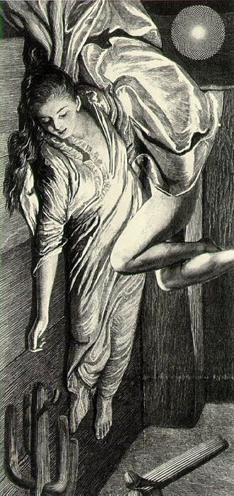 Max Ernst, The Hundred-Headless Woman Opens her August Sleeve, 1929