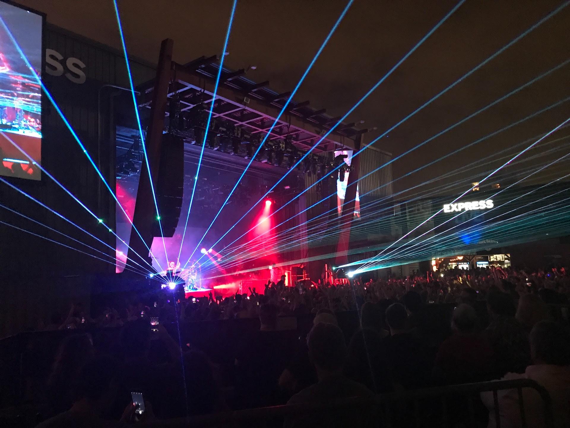 Express Live Section Lawn Row Front Twenty One Pilots Vs Tour De
