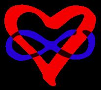 Polyamory Logo, Infinite Loving