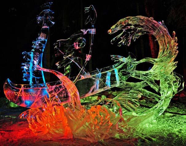 Εκπληκτικά έργα τέχνης από ένα κομμάτι πάγου (3)