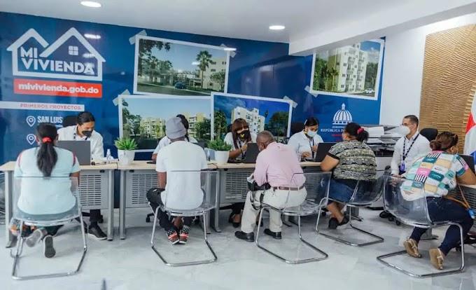 APROXIMADAMENTE 108 MIL DOMINICANOS APLICARON EN PRIMERA ETAPA DEL PLAN MI VIVIENDA