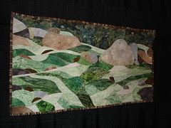 quilt - heavily beaded