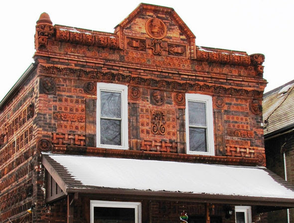 toronto terracotta house