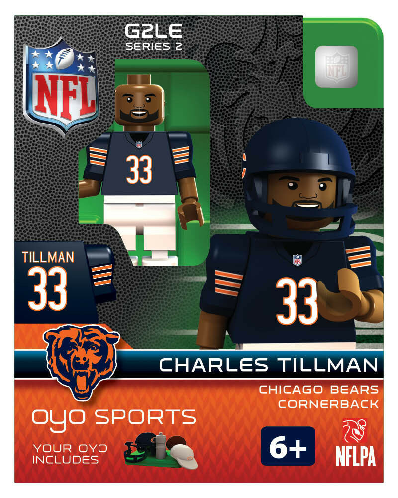 Charles Tillman OYO Chicago Bears NFL Football Figure NEW G2  eBay