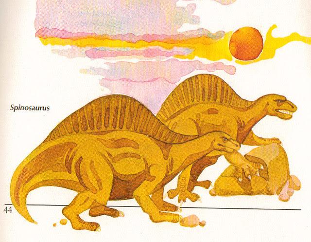 Spinosaurus Twins