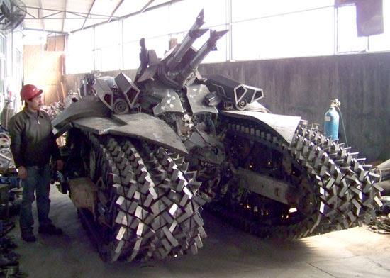 China Megatron Tank replica