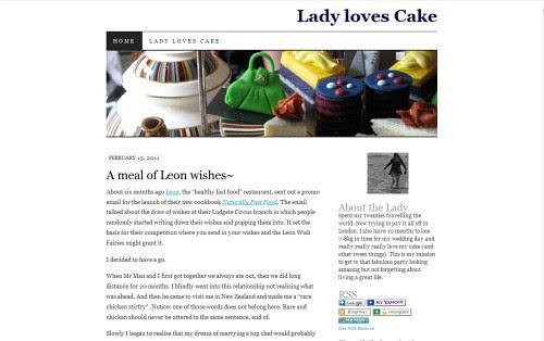 Lady Loves Cake