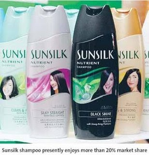introduction of sunsilk Introduction 1952: introduced the first variant 1970: sunsilk was relaunched using the international design bottle and at the same time the second variant lemon was introduced.