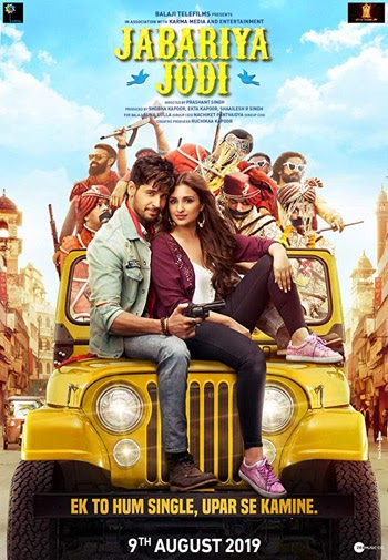 Jabariya Jodi 2019 ORG Hindi Movie HDRip 480p 400MB