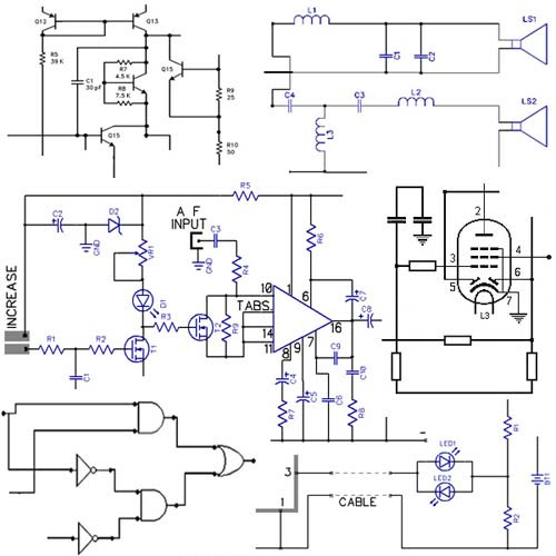 Electronic Circuits Diagrams, free design, projects | free ...