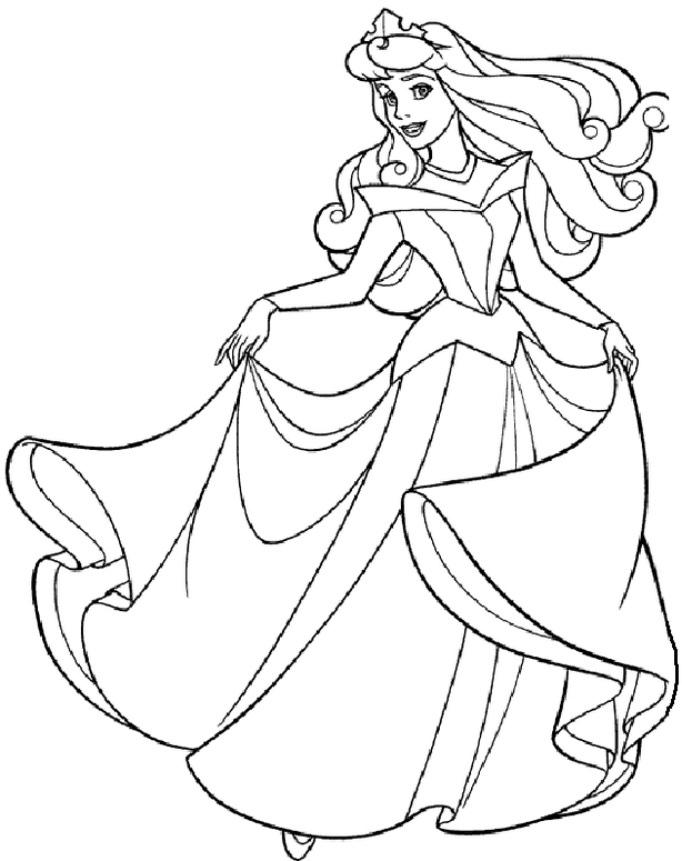 71+ Coloring Book Images Of Princess Best HD